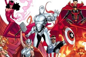 "alt=""Thor mujer, Capitán América negro, marvel, javierpellicerescritor.com"""
