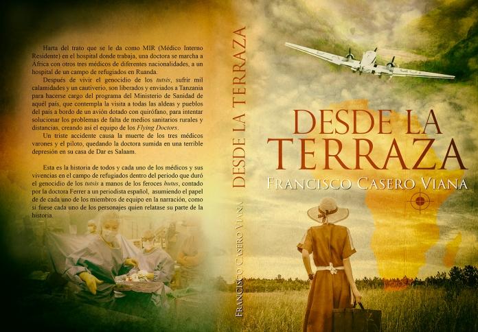 """alt=""""Desde la terraza, Francisco Casero, Alexia Jorques, portada, javierpellicerescritor.com"""""""