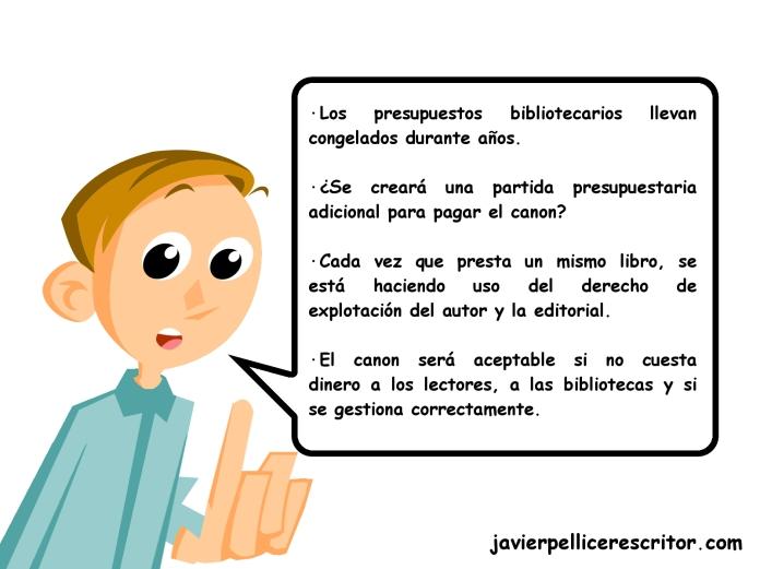 """alt=""""canon bibliotecario, preguntas y respuestas, javierpellicerescritor.com"""""""