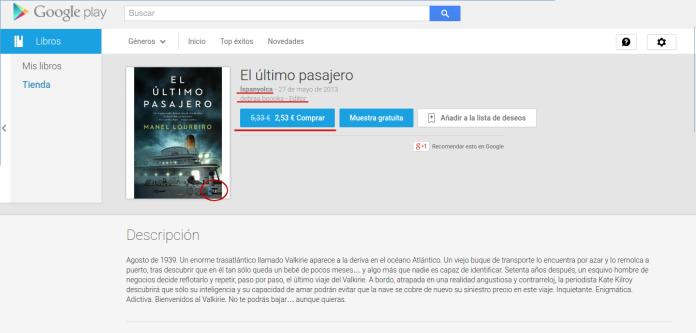 """alt=""""Ispanyolca, venta libros pirateados, Loureiro, el último pasajero, javierpellicerescritor.com"""""""