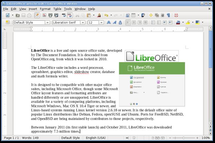 """alt=""""LibreOffice, procesadores de texto, literatura, escritor, javierpellicerescritor.com"""""""