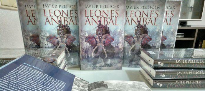 """alt=""""Leones de Aníbal, novela histórica, Aníbal, Javier Pellicer, Edhasa, javierpellicerescritor.com"""""""
